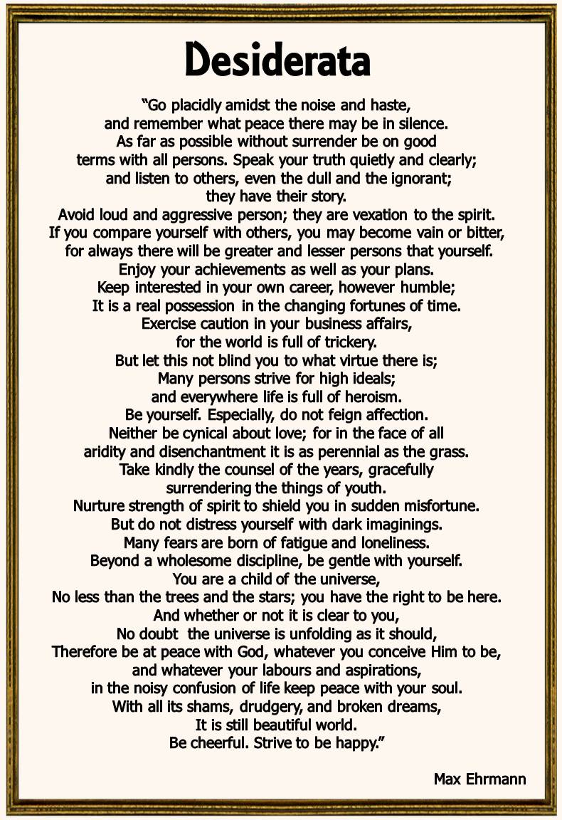 Tactueux image with printable desiderata