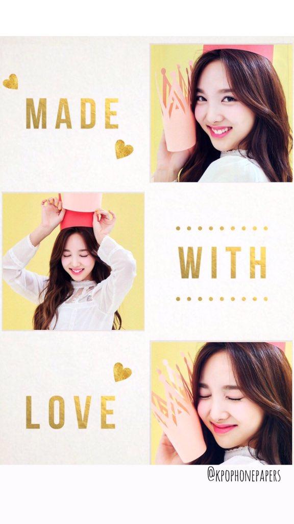 Idol Wallpapers On Twitter Im Nayeon Wallpaper Lockscreen