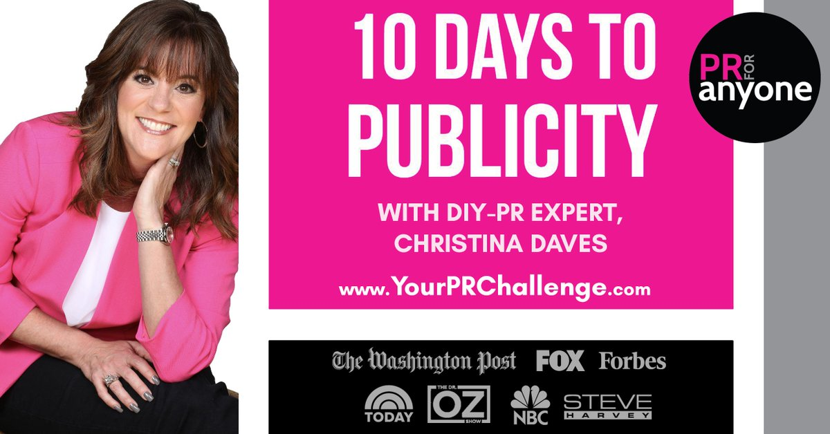 Get free #publicity and expose your business to exponentially more customers. Join the free challenge today! <br>http://pic.twitter.com/fU3GeUPyDX