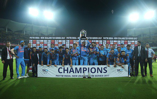 India have won all the seven series deciders since 2016 ( 3 in ODIs & 4 in T20Is)