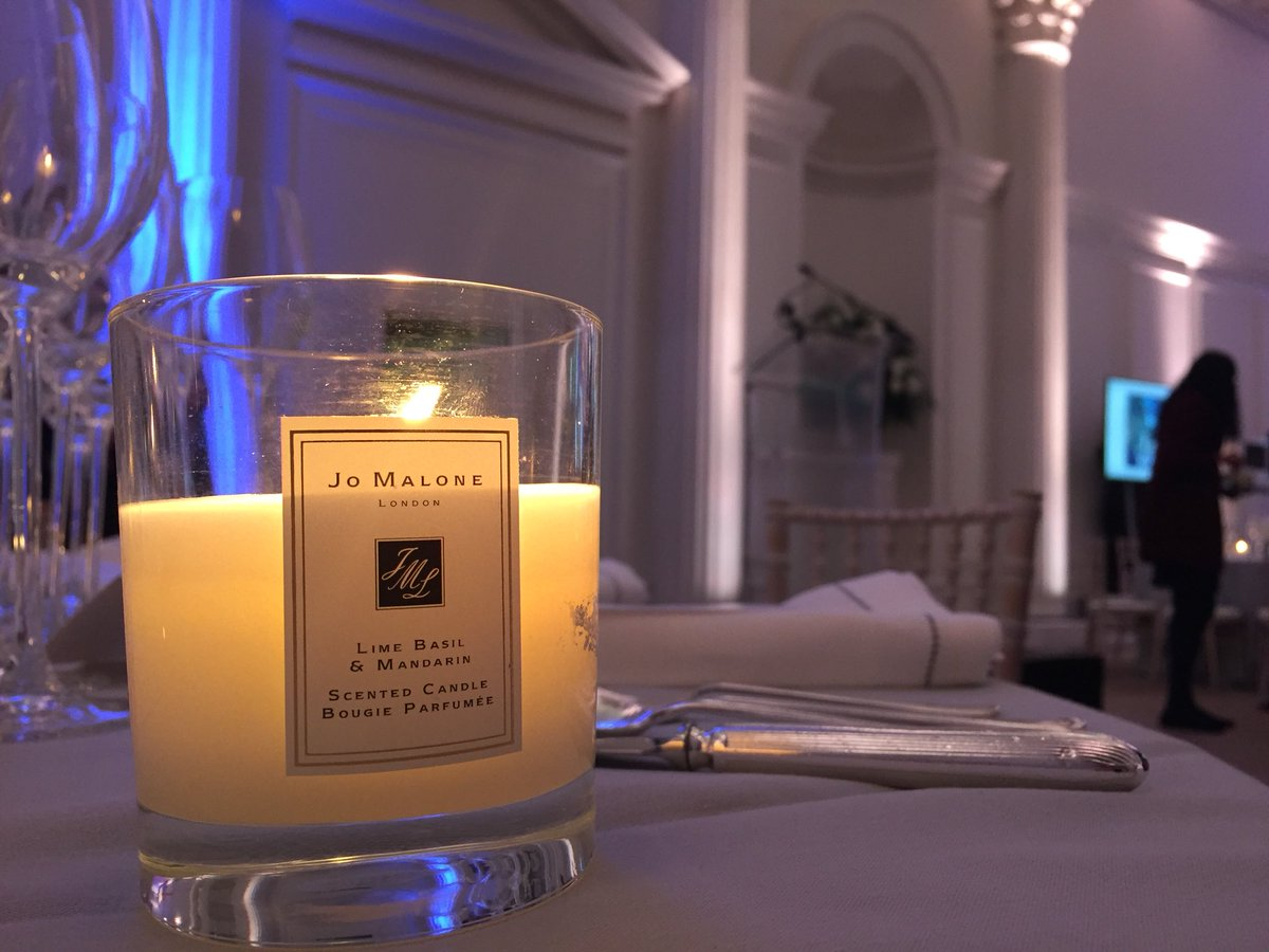A very special shout out to @JoMaloneLon...