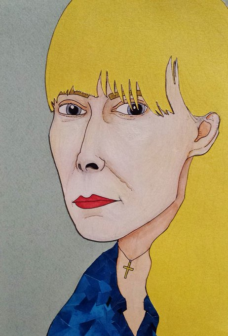 One from the vaults... happy birthday to one of my favourite singer songwriters, Joni Mitchell