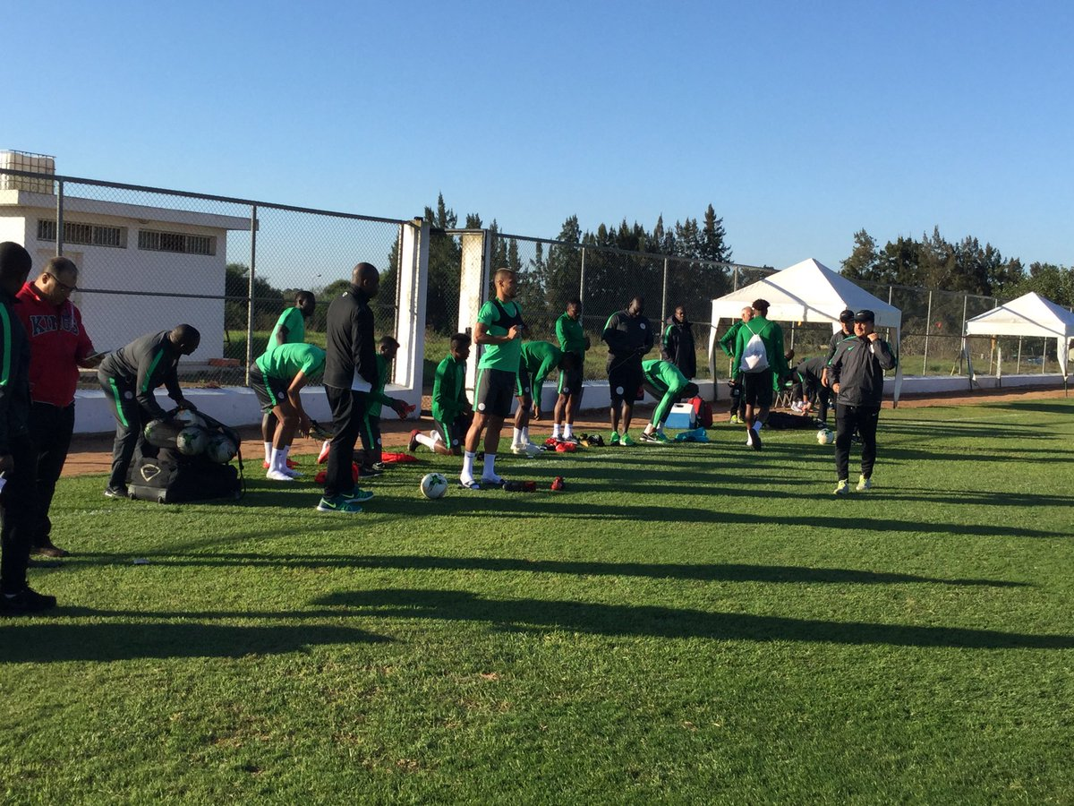 The national team Super Eagles are set for the World Cup encounter against Algeria and the upcoming friendly match against arch-rival Argentina.