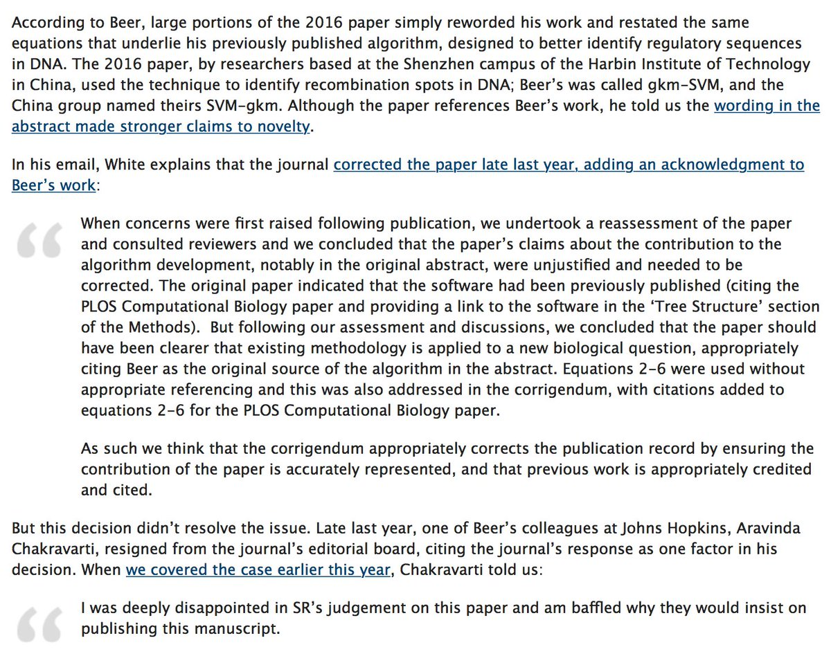 gaetan burgio on twitter 17 researchers resign in protest from editorial board at scientific reports retractionwatch httpstcorc42aoph4p - How To Resign From A Board