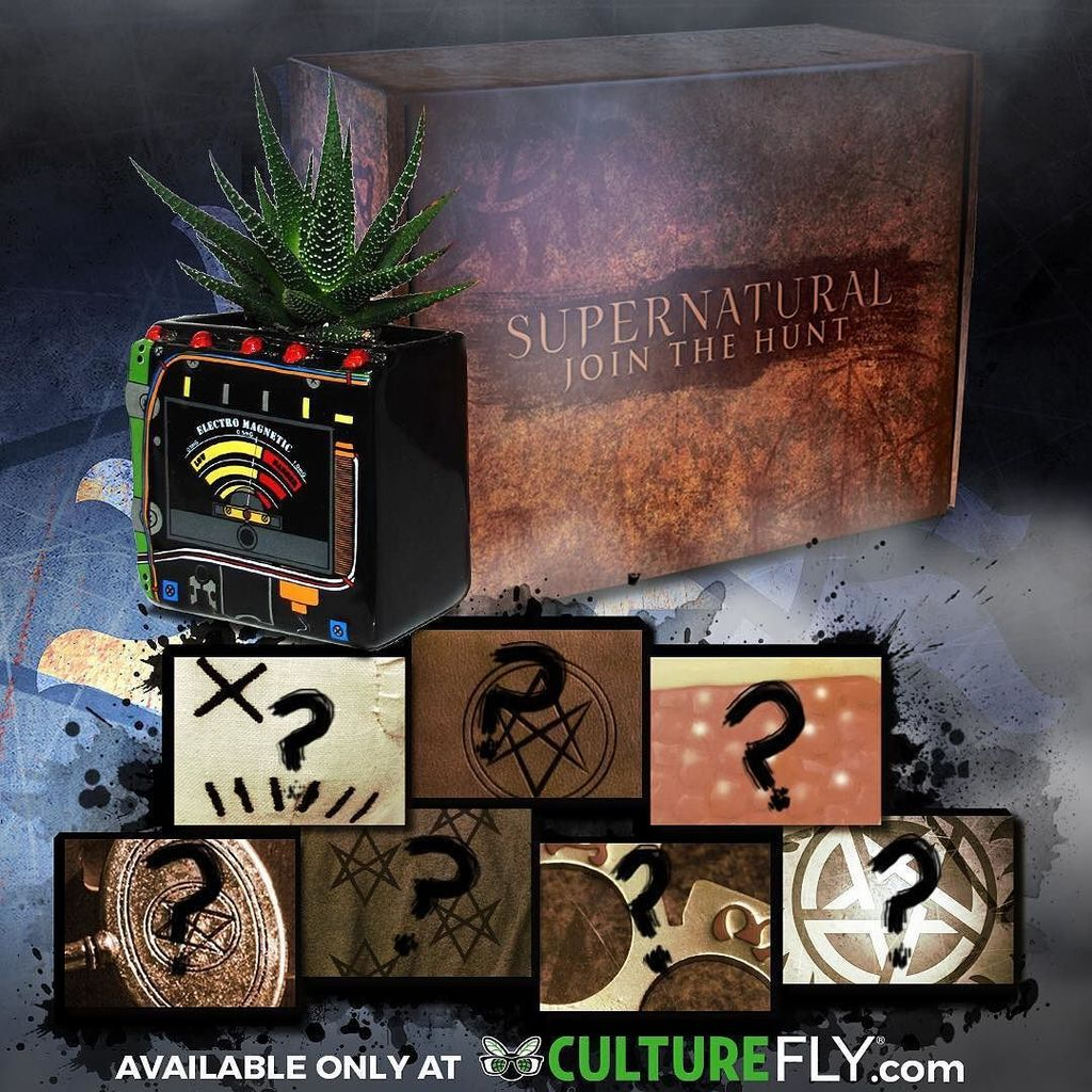 culturefly supernatural subscription box holiday wishlist