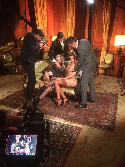 RT @dorcel: En tournage avec @castel_claire et @alexiscrystal3 #InsideDorcel https://t.co/22reNJDtzn