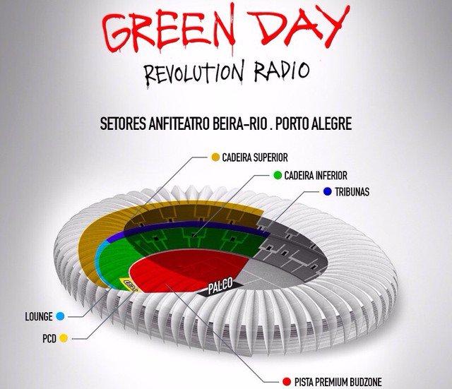Vai ver o Green Day em Porto Alegre? Confira o serviço completo para o show desta terça https://t.co/ZYetHK7xnF