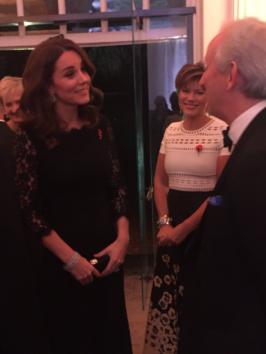 Kate at the @AFNCCF Gala Dinner this eve...