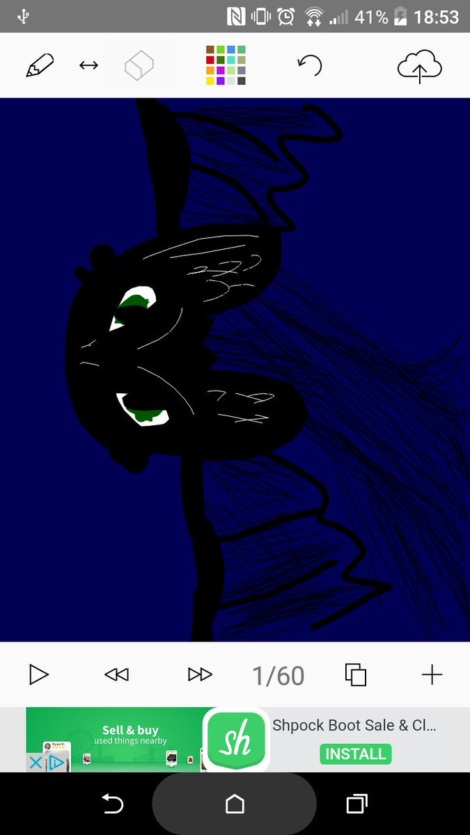 Animation I Did For You About A Singetail And Nightfury Then The Rest Deleted D Cant Get It Back Love Rtte 1 More Season