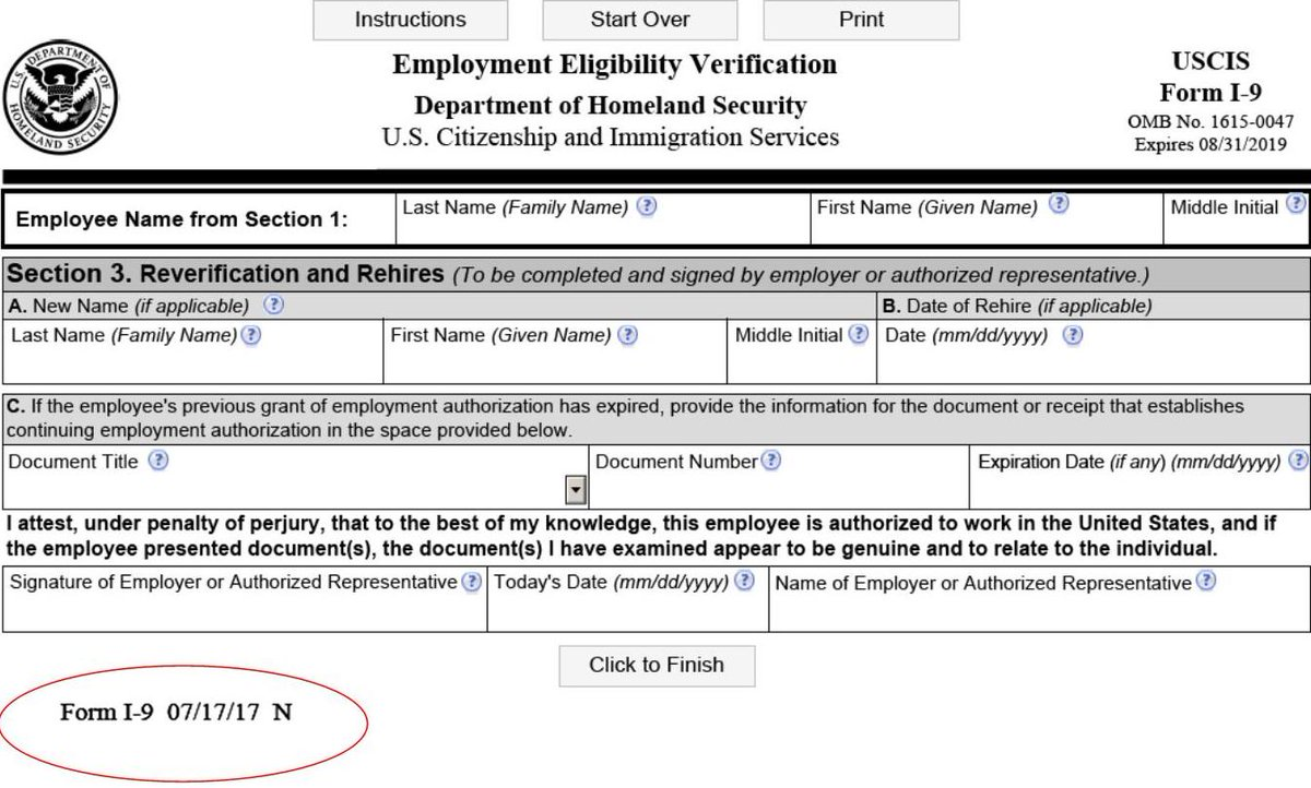 "USCIS E-Verify على تويتر: ""#Employers must use Form I-12 ..."