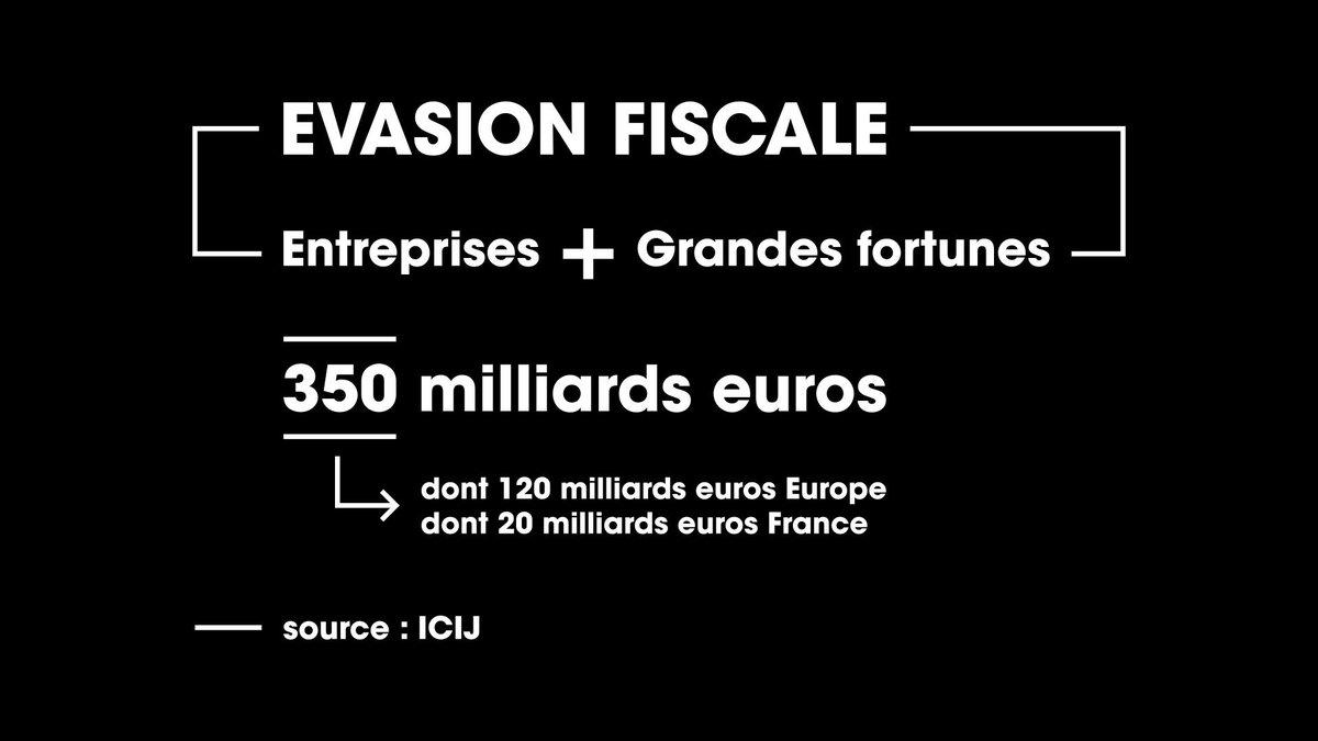 #cashinvestigation #ParadisePapers le coût de l'évasion fiscale