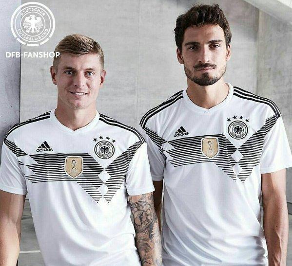 Nueva camiseta de la selección de Alemania. / Twitter-iMiaSanMia