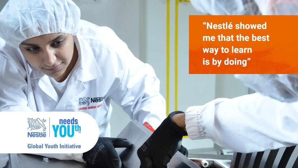 Nestlé has helped 50,000+ young people like Varsha in Dubai find jobs since 2014: https://t.co/lM6fBFjgfy #NestleneedsYOUth https://t.co/OCDw7gyc3j