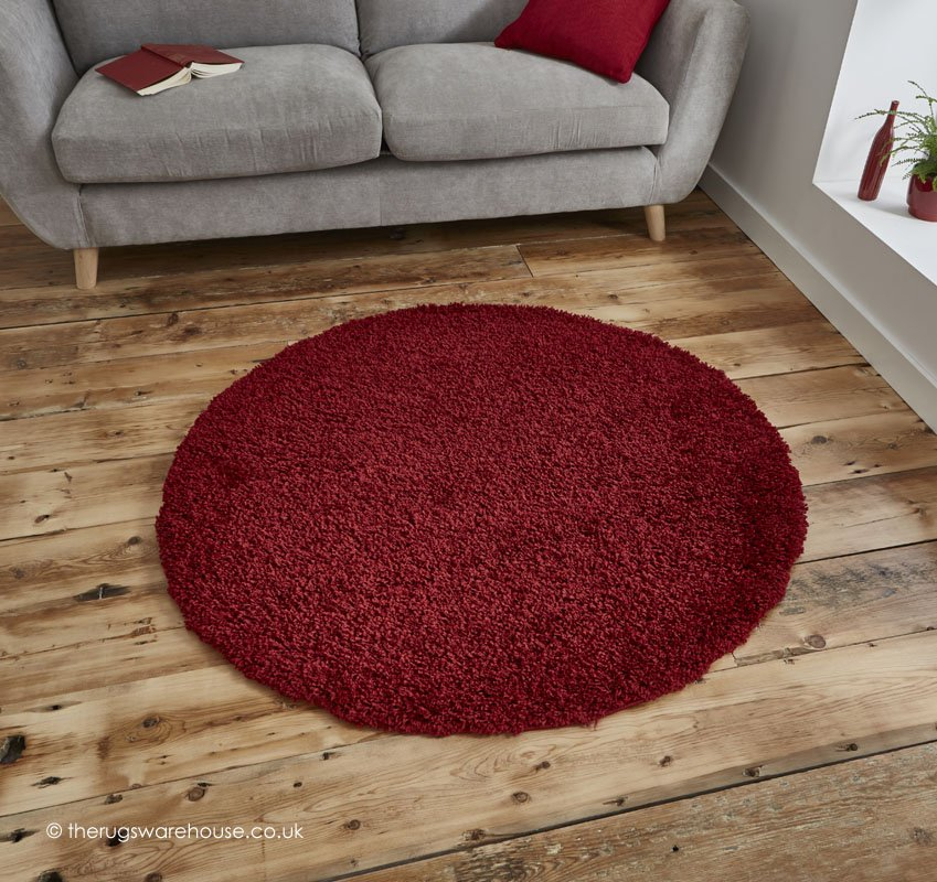 vista circle rugs soft synthetic budget shaggy rugs with 50 mm pile 8 colours u2026