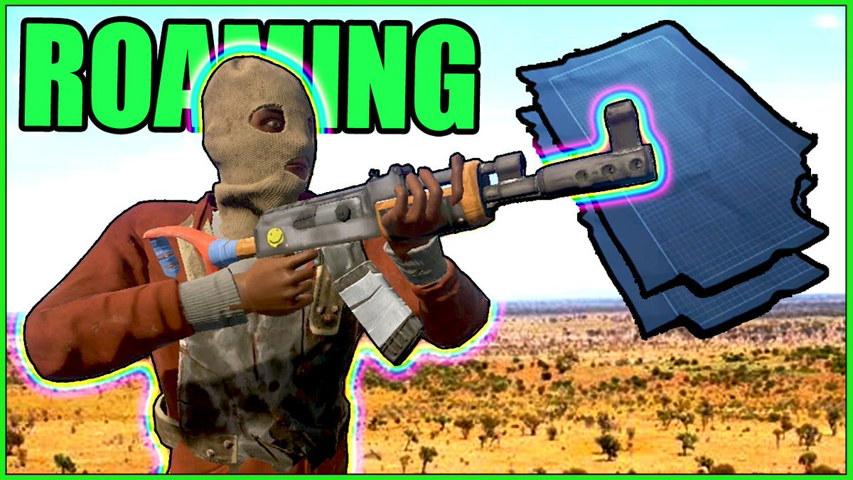 NEW #Rust VIDEO in 10 MINS &quot;Stealing an AK47 from Roof Campers!&quot; (vanilla) WATCH HERE:  https:// youtu.be/eXuEb9pblFY  &nbsp;   #loin @DrLOINSTAIN #rustlang<br>http://pic.twitter.com/99tBTE2MSu