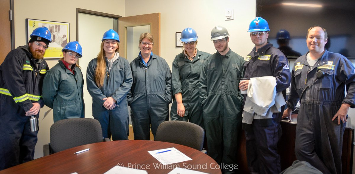 Thanks Petro Star for taking our students on a tour of the #Valdez refinery! #pwsc #petrostar<br>http://pic.twitter.com/NrsqBFO7SQ