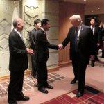 【トランプ大統領との新たな写真を入手できました】佐々江大使夫人から送って頂きました。ありがとうござい…