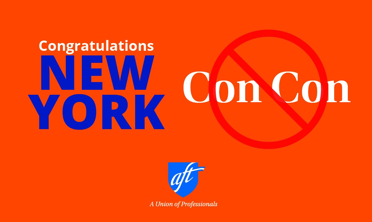 Great news in NY! Voters rejected ConCon...