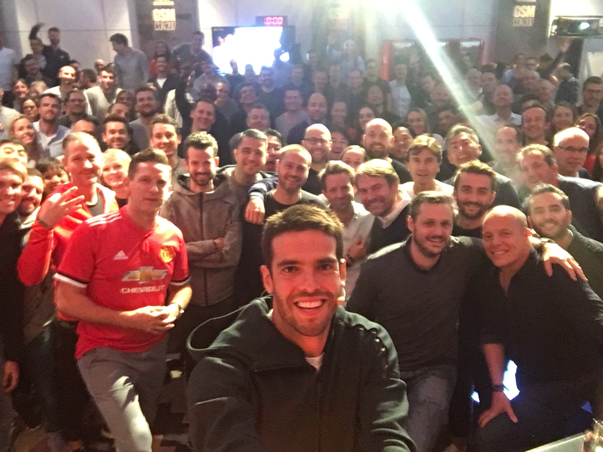 We're in Amsterdam! �������� A fun day sharing my experiences with my @adidasfootball family!⚽�� #HereToCreate https://t.co/yvTpOf0HuT