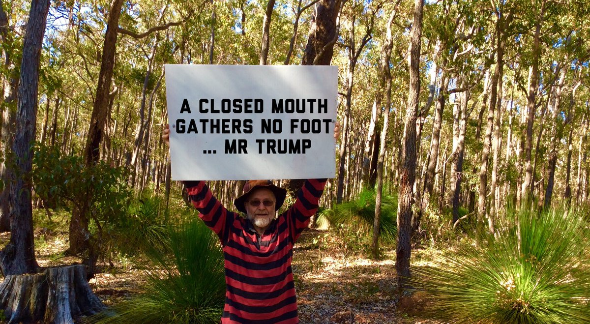 #foot and #mouth #disease #trump is a #moron an #idiot #narcissist #deranged #mentallyill #sickman #fakepresident<br>http://pic.twitter.com/XRZPtiCOGQ