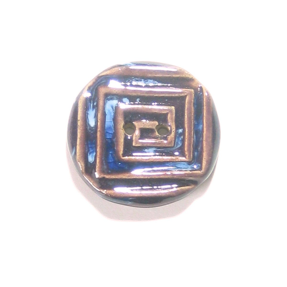 Rustic Round Blue Purple Square Design Button, (1) Two Hole One Inch …  http:// tuppu.net/9f8ebe3a  &nbsp;   #epiconetsy #etsymntt<br>http://pic.twitter.com/lYbNEewf5E