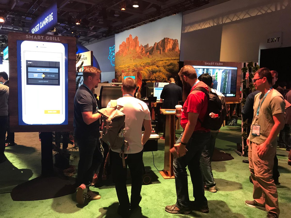 Come see our customers, @FreightFarms and @TraegerGrills, in the IoT Grove at #DF17. Come enter to win a free connected grill! https://t.co/cU2REhhxMQ