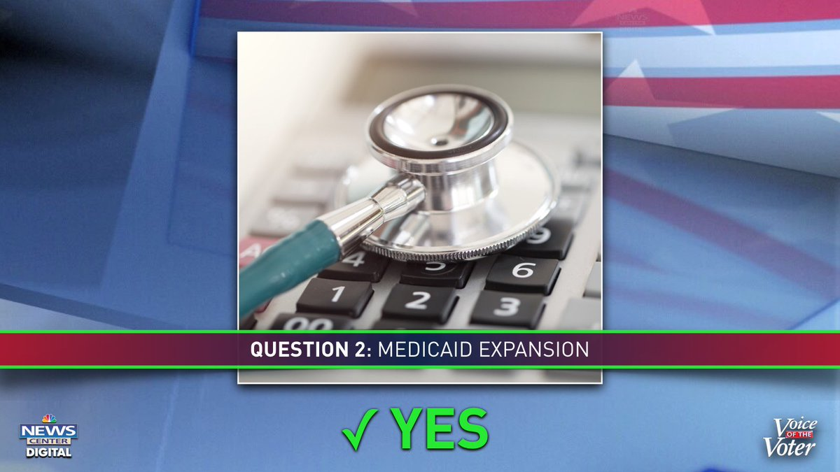 BREAKING: Maine votes YES on Question 2 to approve Medicaid expansion #mepolitics
