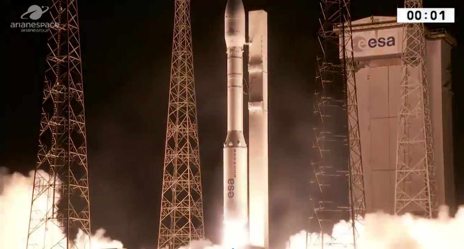 У Франції запустили ракету Vega з українським двигуном (Відео)