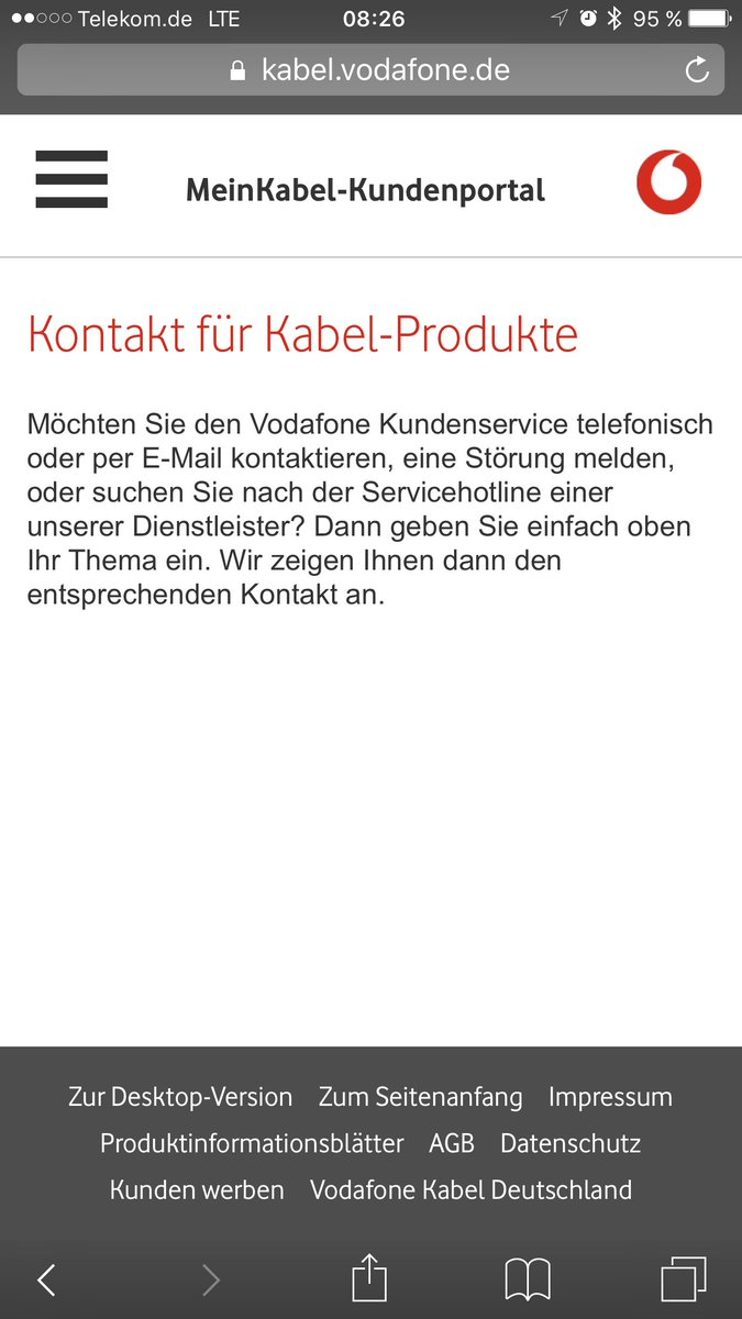 e mail kontakt kabel deutschland