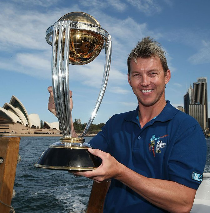Happy birthday to one of cricket\s fastest bowlers: Brett Lee!