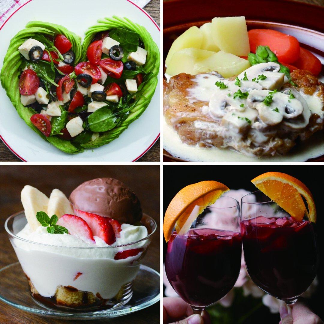 おうちでレストラン気分♪ お手軽ディナーコース #tastyjapan