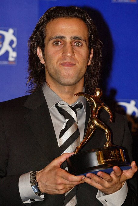 Happy birthday Ali Karimi! The AFC Player of the Year 2004 turns 39 today.