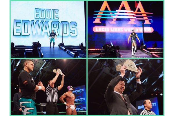 Eddie Edwards continúa haciendo historia con el máximo título de NOAH. 3