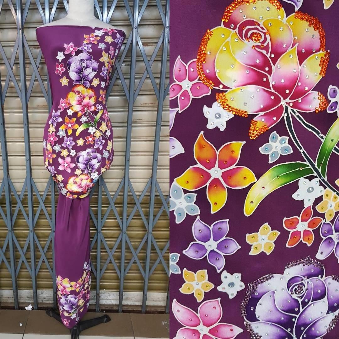 Paling Populer 15+ Gambar Batik Lukis Bunga