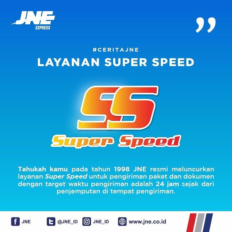 Jne Express On Twitter Tau Kah Kamu Layanan Super Speed Diluncurkan Pada Tahun 1998 Yuk Simak Ceritajne Hari Ini Mengenai Super Speed Jne Https T Co Ni3iicyl1m