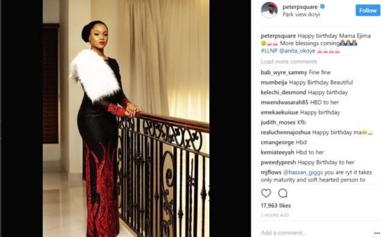 Peter Okoye Wishes Sister-In-Law, Anita A Happy Birthday