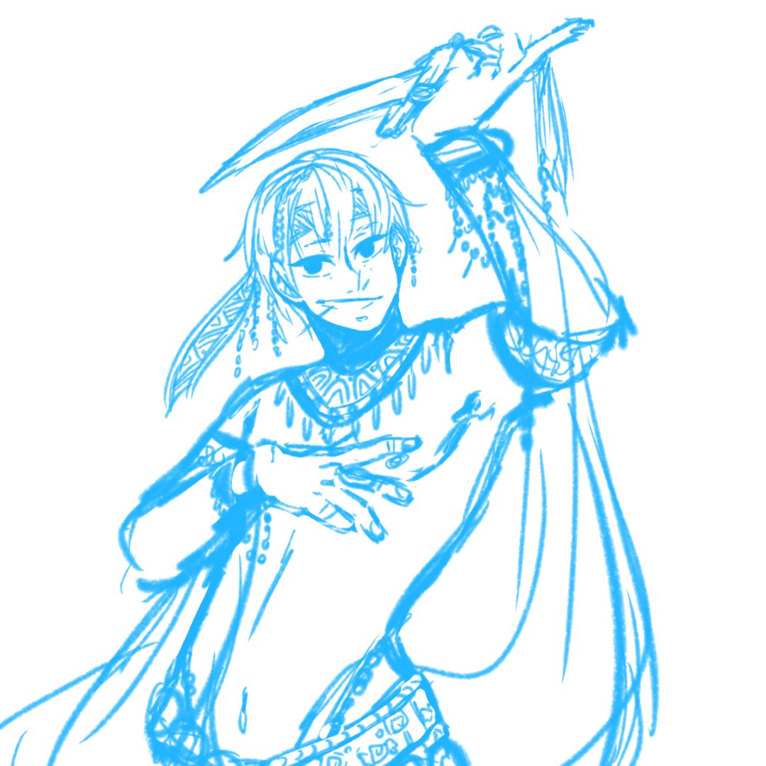 Dancer Gaius WIP   Why haven&#39;t I drawn this sooner??? I feel like I&#39;ve died and went to heaven XD . . . . #fireemblem #FireEmblemAwakening #FireEmblemHeroes #Gaius #fireemblemgaius #art #dancer <br>http://pic.twitter.com/2KjvCq824H