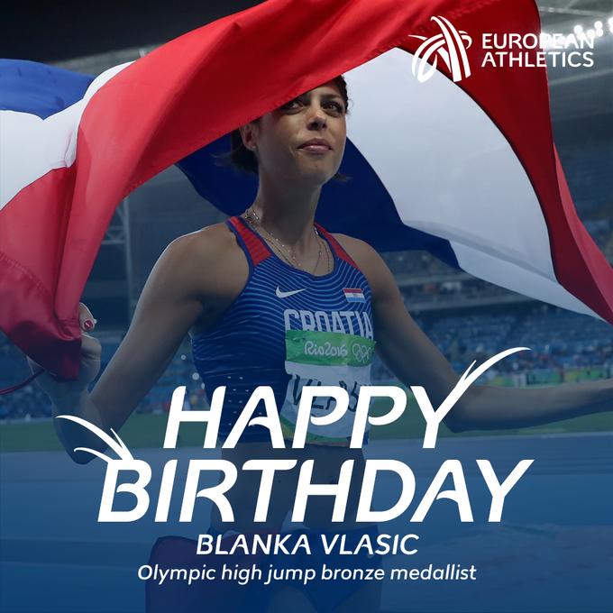 Happy birthday to Olympic high jump bronze medallist and 2007 and 2009 world champion Blanka Vlasic!