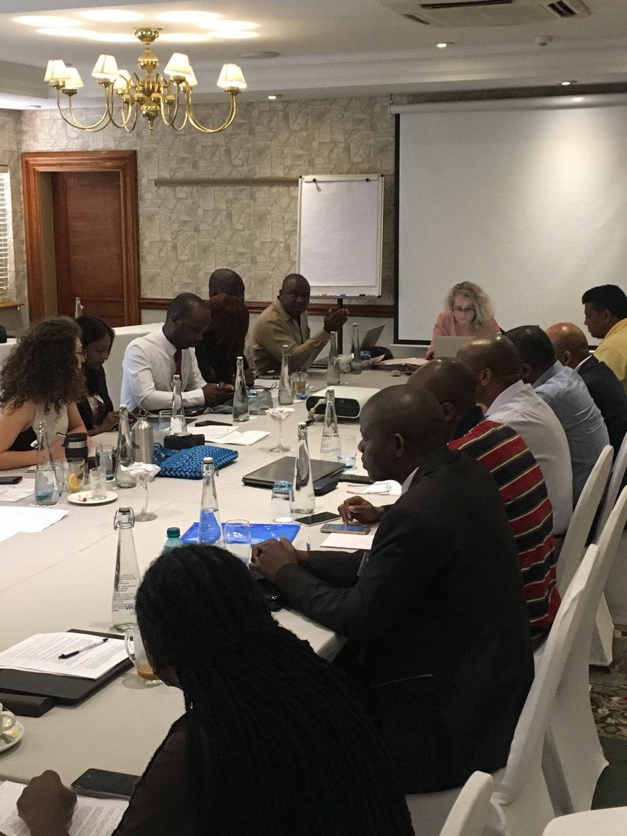 Discussing the draft Regional Guidelines for SADC on Crime and Violence Prevention, with @APCOF
