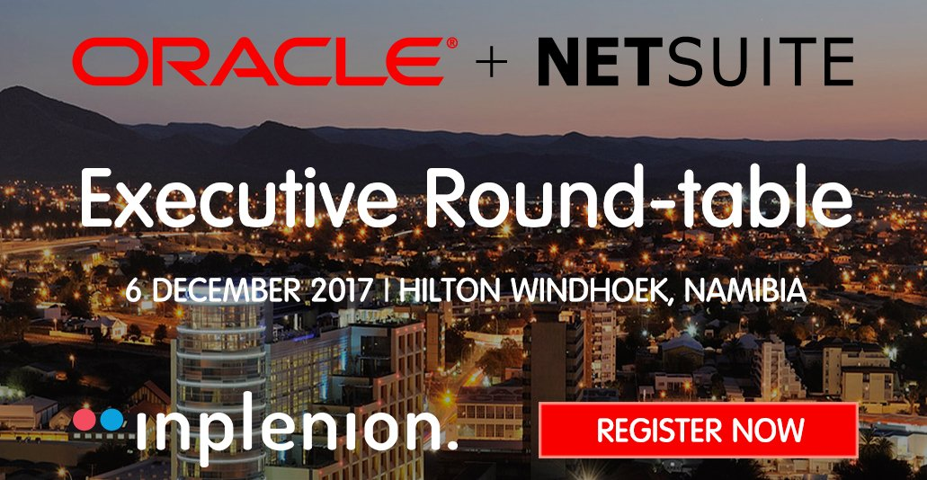 Inplenion on twitter oracle netsuite and inplenion are pleased 1222 am 8 nov 2017 stopboris Choice Image