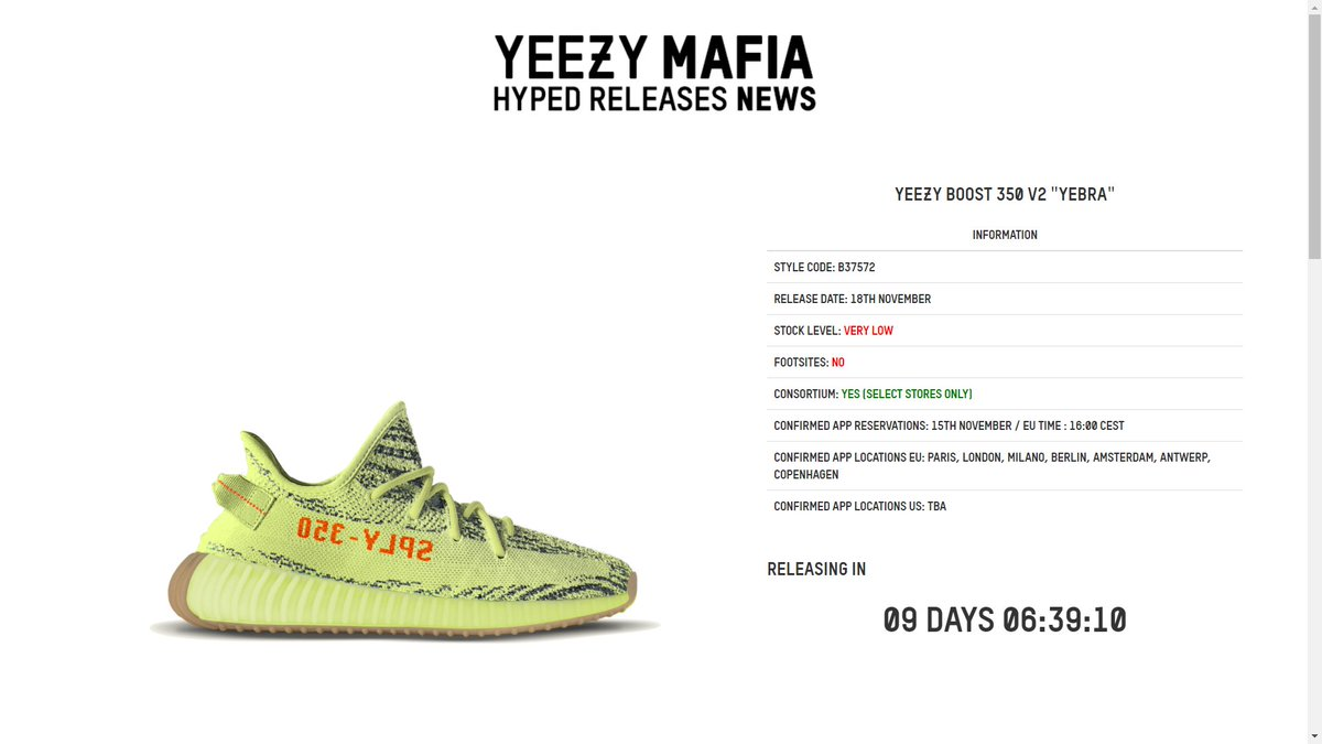 adidas confirmed yeezy semi frozen yellow