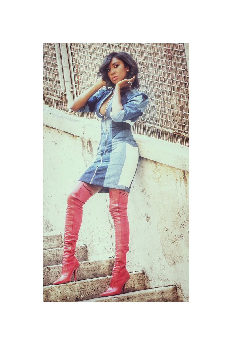 B*O*O*T*S For more #Style ,#Music &amp; #TheButterflyExperience  #FollowMe @instagram  Ph by Eleonora Milani MUA Adelina Popa Styled #MUVAInternational    Dress @MajeParis  Boots @Fendi  #Styleblog #MAGICLOVE #VJM #VanessaJayMulder #singer #Fendi #Maje #FollowMe<br>http://pic.twitter.com/9Amxide1AF