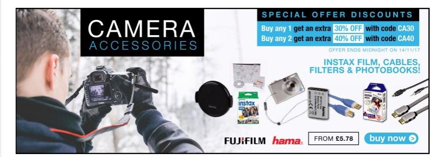 Pre #BlackFriday deals Massive min 30% off Camera Accessories  http:// ow.ly/r7Nc30gqUmg  &nbsp;    #RT #Follow #Win Save Share #MultiBuy  any 2 40% off <br>http://pic.twitter.com/0TnayyBGgv