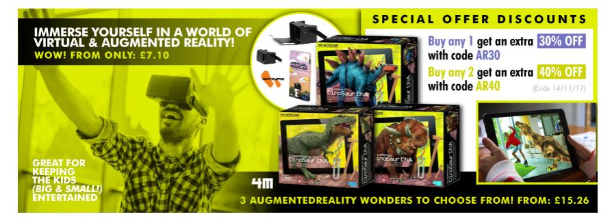 Save big on AR/VR devices up2 40% off  http:// ow.ly/96IM30gqUEF  &nbsp;   #RT #Follow #Win  Share 30% off any item  #MultiBuy 40% off 2 <br>http://pic.twitter.com/cLwFN4sied