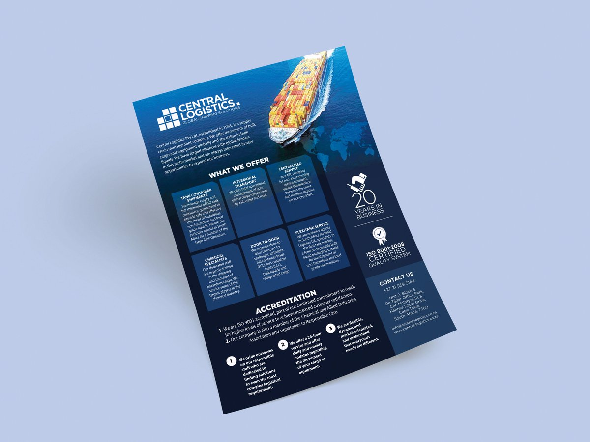 A One Page Condensed Company Profile Is Great Brand Communication Tool Making Use Of An Infographic Style Information Can Be Compacted And Made More
