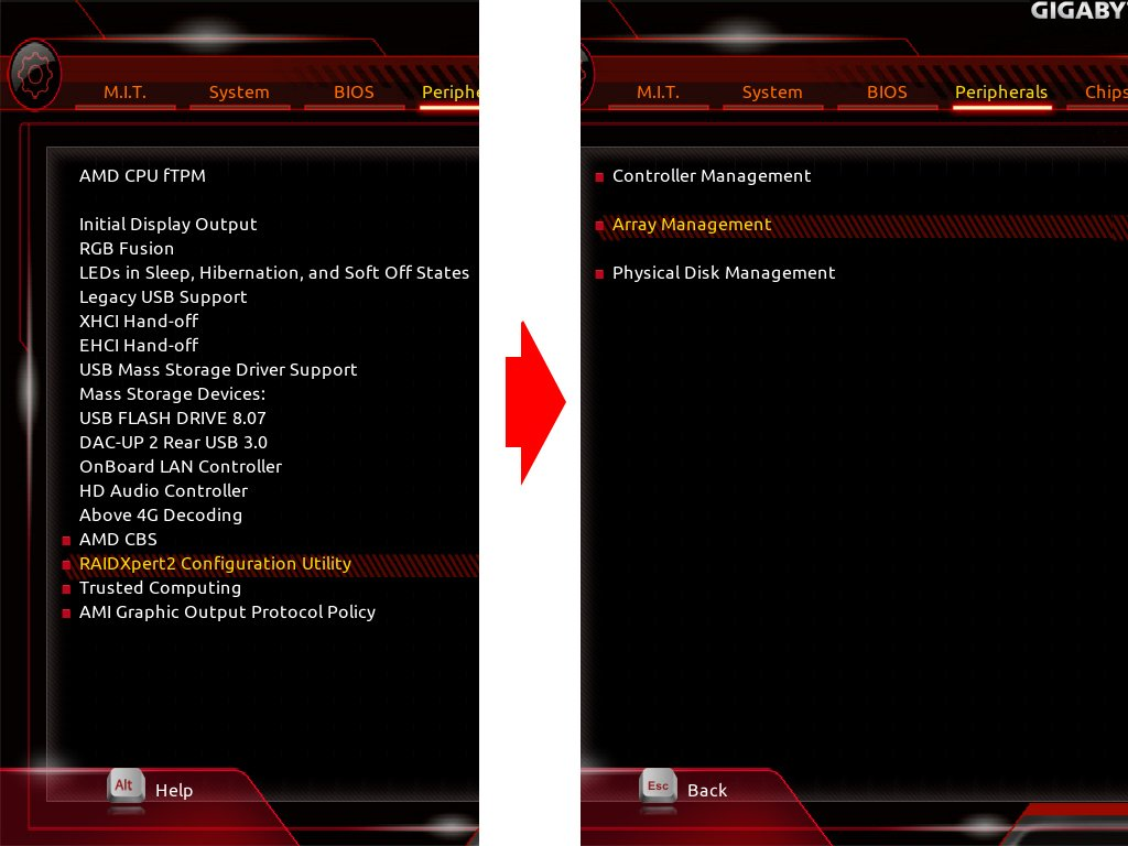GIGABYTE X399 AORUS Gaming 7でNVMe RAID0を試す。