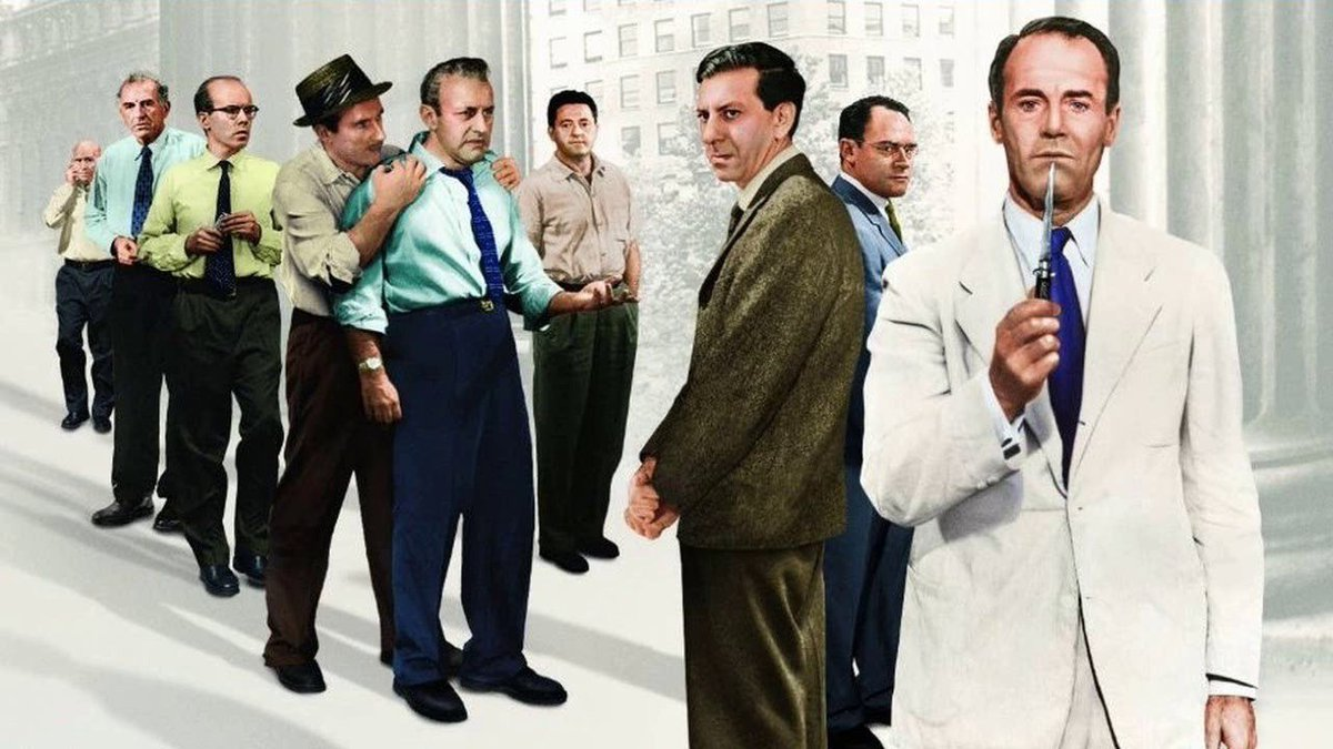 12 angry men comparisons between characters Twelve angry men essay 'twelve angry men' shows that personal experience is the strongest factor influencing human decision-making processes' discuss twelve angry men by reginald rose is an intriguing play that explores the idea of personal experience affecting ones decision.