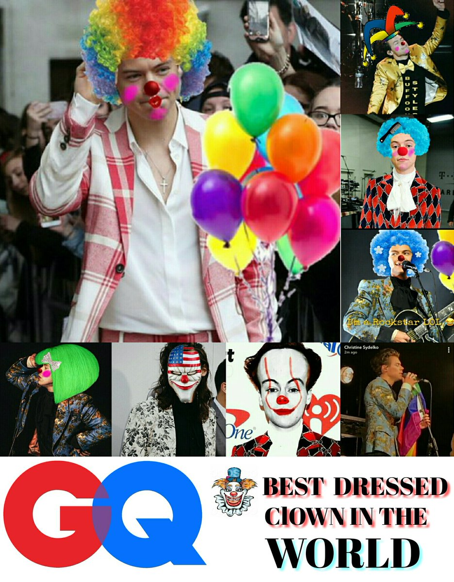 Guys Who Nailed GQ ?  RT for #HarryStyles  Like for #ZaynMalik  For me : Harry Clown Styles is Best <br>http://pic.twitter.com/IBqfeiCvVx