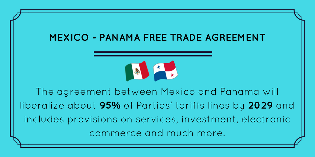 Wto On Twitter Do You Know About The Mexico Panama Free Trade
