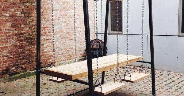 Just Pinned to Furniture: A swingset picnic table?? What? #setdec #furniture #pinterest Amy Schumer boyfriend make…  http:// ift.tt/2zqprnL  &nbsp;  <br>http://pic.twitter.com/QSbGfZmcU3